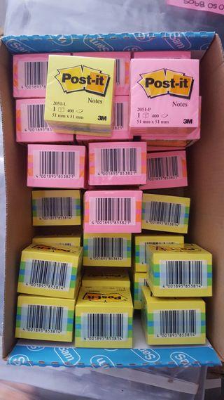 Caja de Possit cubo rosas y amarillos