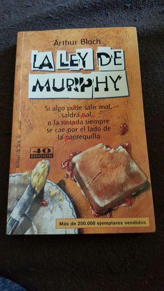 Libro La Ley de Murphy