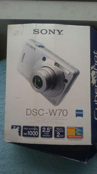 Cargador Original Cámara Sony DSC-W70
