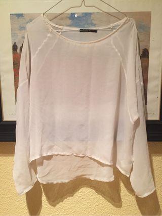Blusa blanca M