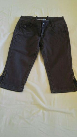 Pantalon Marron Bershka