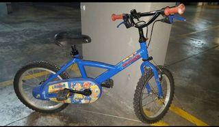 Bicicleta Infantil 3-6 años aprox urge