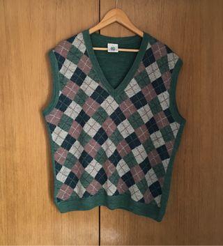 Suéter vest estilo golf