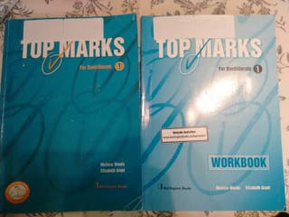 Libro inglés Top Marks for bachillerato 1
