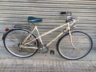 Bici torrot paseo ciudad 700C cambio 5V.