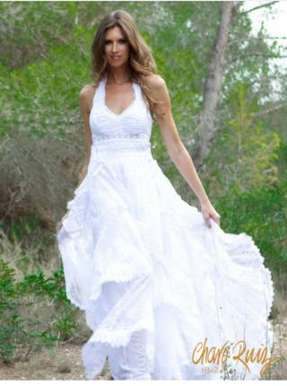Vestido de novia charo ruiz