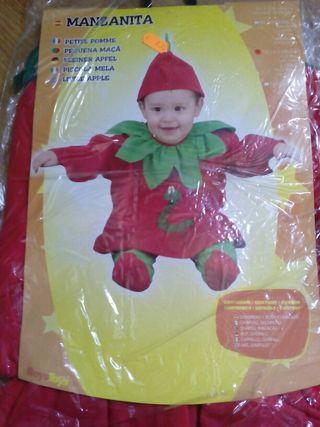 Disfraz manzana bebé