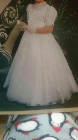 Vestido de comunión... precio original 650€