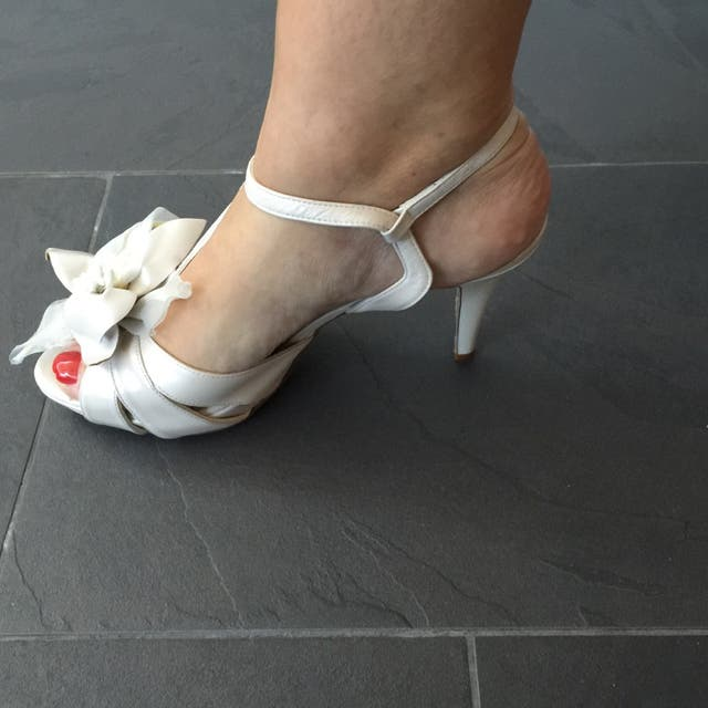 Zapatos de novia nuevos GLORIA ORTIZ talla 40