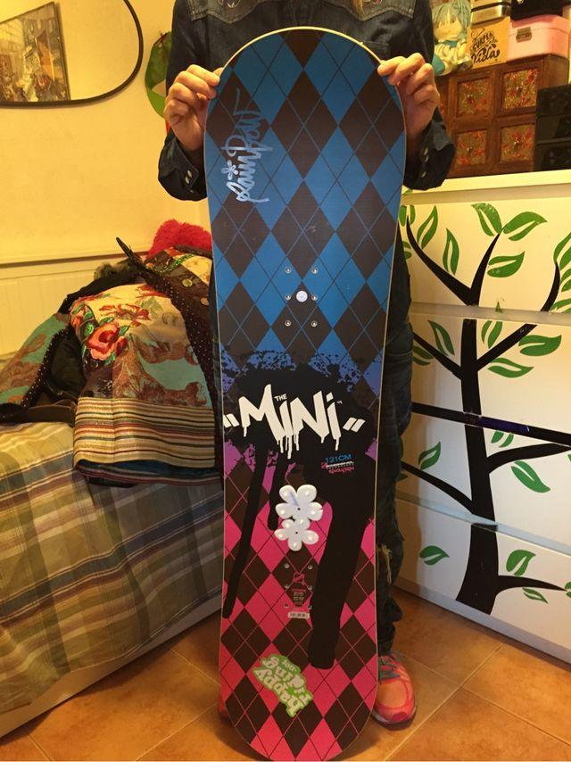 Tabla snowboard mini