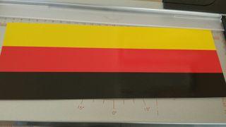 Vinilo Alemania (23x10cm)