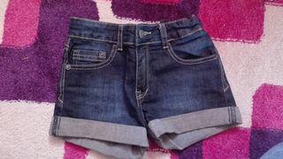 Pantalones cortos niña .con cinturilla ajustable