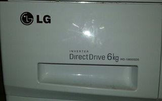 Lavadora LG wd10600sds