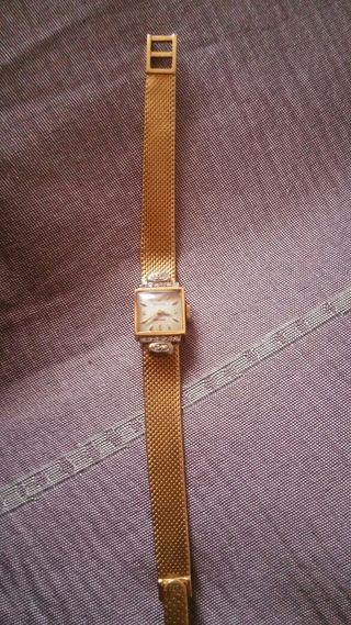 Reloj de mujer ROLEX de oro y brillantes