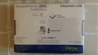 Adaptador USB WIFI Inalámbrico de Telefónica Nuevo