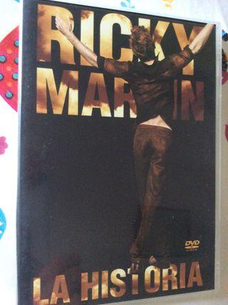 RICKY MARTIN La Historia DVD