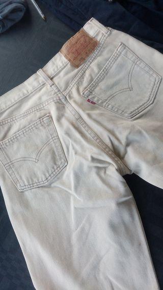 Pantalon hombre levi's 501 beige