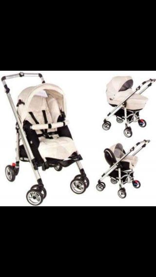 Trio cochecito paseo Loola up bebe confort