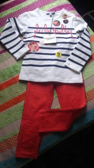 Jean Paul Gaultier bébé ensemble leggings neuf