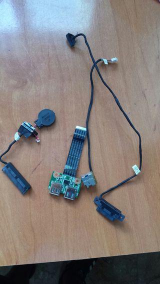 Piezas de portatil compaq presario CQ57