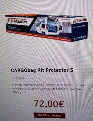 NUEVO Protector universal para el interior de vehículos