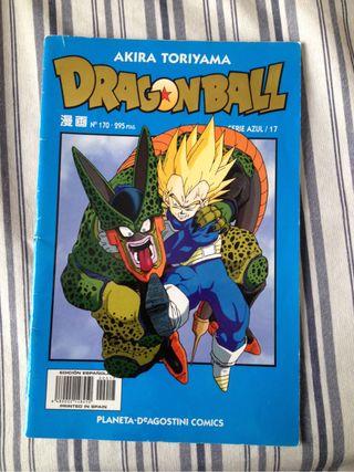 Dragón ball azul N17