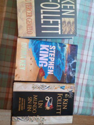 Libros de Ken Follettt