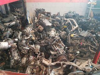 Motores y despiece de los mismo