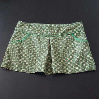 Falda Zara Estampado Retro Vintage