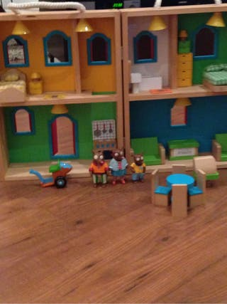 Casa de mu ecas madera de segunda mano por 25 en valencia en wallapop - Casas de madera segunda mano valencia ...