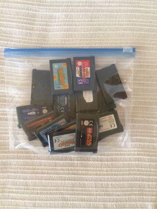 Gameboy Advance 15 juegos