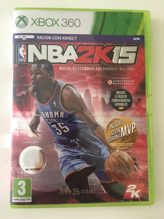 Juego NBA 2K 2015