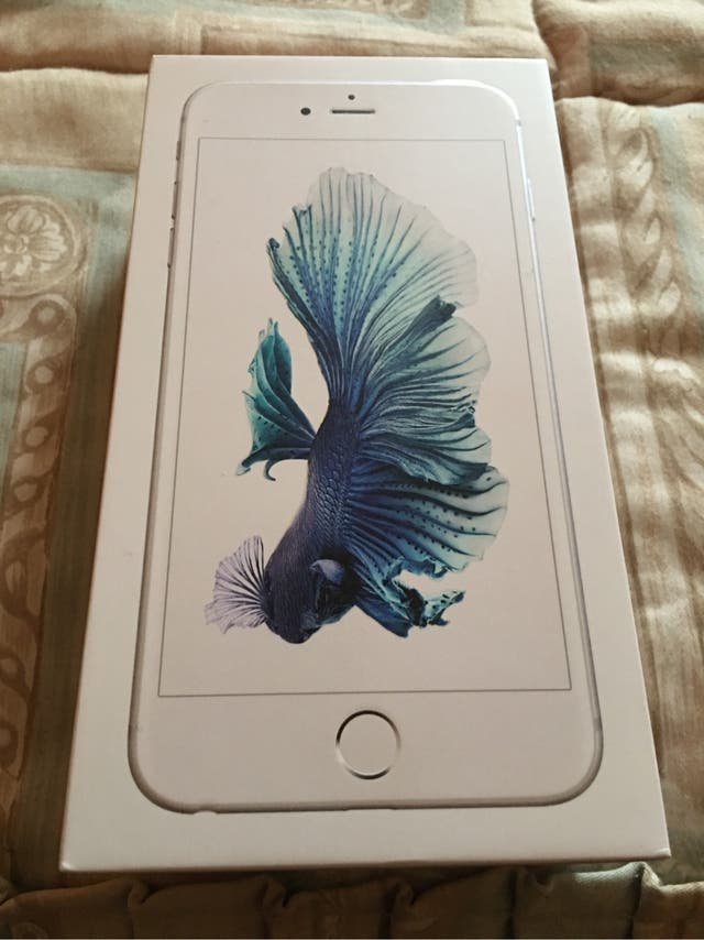 iPhone 6s Plus silver 128gb nuevo