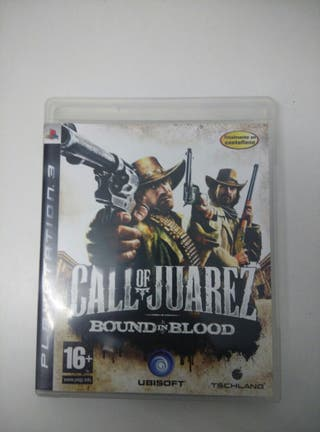 Call of juarez para ps3.