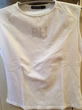 Camiseta De Pedro Del Hierro Blanca