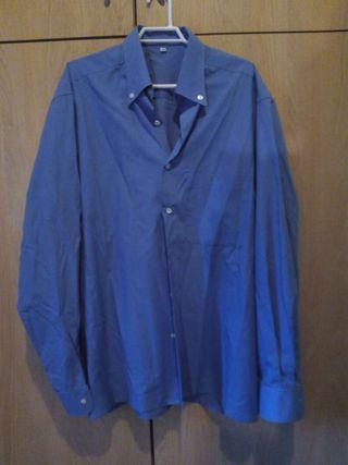 Camisa hombre celeste 40