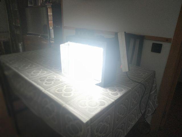 Maleta de luces para vídeo y fotografía