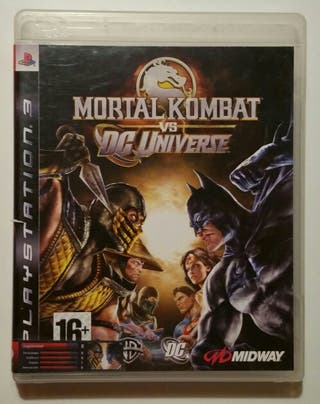 Juego Ps3 - Mortal Kombat vs. DC Universe