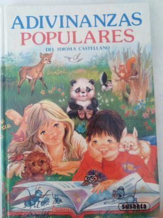 Libro Adivinanzas Populares. URGE VENTA
