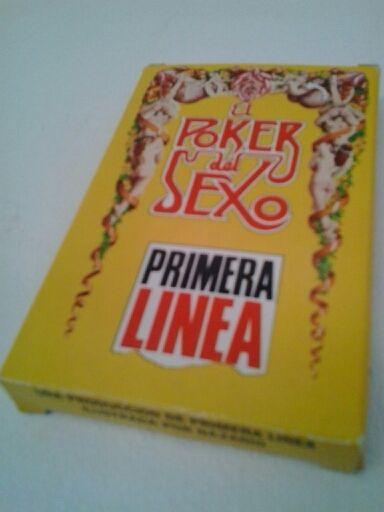 """Baraja """"El Poker del Sexo""""."""