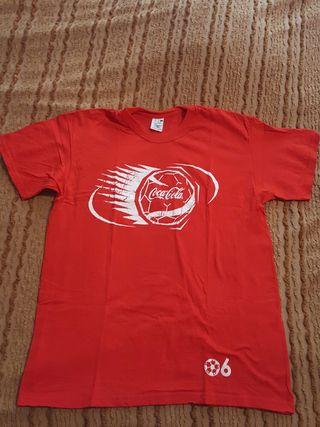 Camiseta promocional Coca-Cola 2006