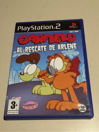 Juego ps2 Garfield original