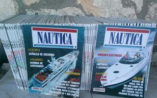 Colección de revistas NAUTICA