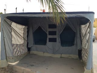 Convertible carro camping