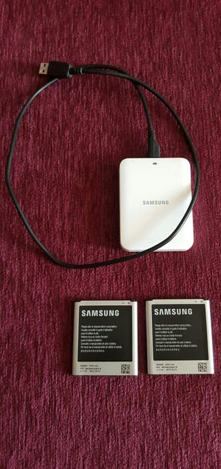 Cargador de baterías para Sansumg Galaxy S4