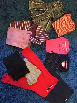 Pack 7 prendas ropa niña
