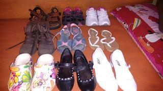 Lote zapatos niña varios ,sueltos a 3€ par