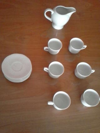 Juego cafe con lechera-tetera