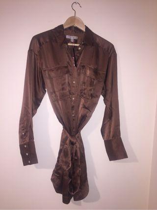 Vestido camisero talla M de BABANA REPUBLIC
