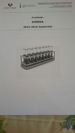 Libro de practicas de quimica EHU/UPV